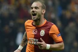 Galatasaray'dan Wesley Sneijder'e net tavır