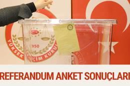 3 yeni referandum anketi sonucu evet mi hayır mı önde?