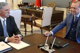 Cumhurbaşkanı Erdoğan Formula 1 CEO'suyla görüştü