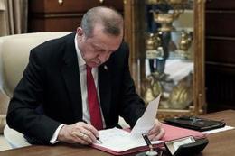 Cumhurbaşkanı Erdoğan'dan 3 üniversiteye atama