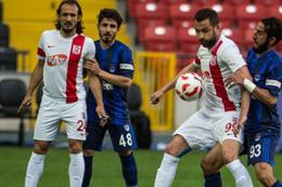 Balıkesirspor ile Gaziantepspor 1 puan ile yetindi