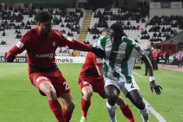 Atiker Konyaspor Gaziantepspor maçı sonucu ve özeti