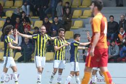 U21 derbisinde kazanan Fenerbahçe