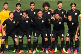 Türk takımı maça siyah forma ile çıktı