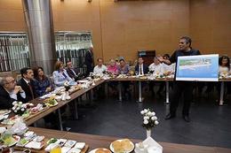 Ebru Türel, engelli STK temsilcileri ile buluştu
