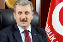 Mustafa Destici OHAL ve Sözcü için çıkış yaptı