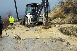 Mersin'de yağış ve dolu, ekili araziler zarar verdi