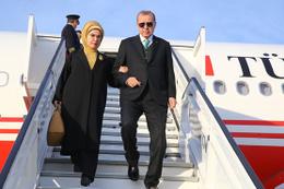 Erdoğan'ı Brüksel'de karşılayan ünlü isim!
