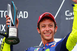 Efsane pilot Rossi kaza geçirdi
