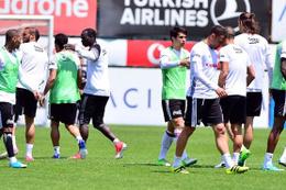 Beşiktaş'ta Gaziantep hazırlığı sürüyor
