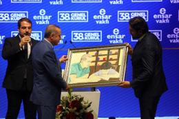 Cumhurbaşkanı Erdoğan'a unutulmaz hediye