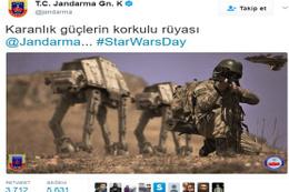 Jandarma Genel Komutanlığı'ndan Star Wars göndermesi
