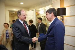 Büyükelçi Berger'den Başkan Türel'e ziyaret