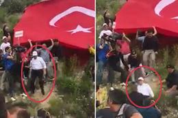 Adalet Yürüyüşü'ndeki Kemal Kılıçdaroğlu fena düştü