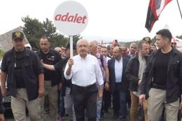 Kemal Kılıçdaroğlu 5. günde nerede? Yürüyüşte kimler var?