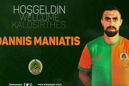 Alanyaspor Ioannis Maniatis'i açıkladı