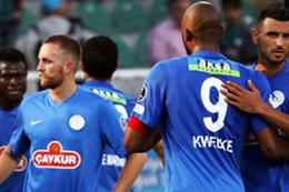 Rizeliler küme düşünce Trabzon'dan bilmemeli!