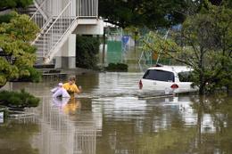 Japonya'da sel felaketi hayatını kaybedenlerin sayısı artıyor