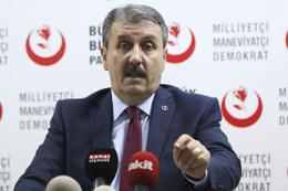 BBP lideri Destici'den HDP'ye Necmettin öğretmen tepkisi