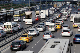 O sistem sonrası Trafik kazalarında büyük düşüş