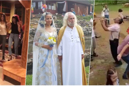 Hasan Mezarcı evlendi eşi kimdir? Kendini İsa sanıyor