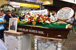 Bu Türkiye'de olur! Çamaşır makinası üzerinde cenaze namazı