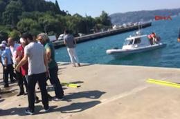 Sarıyer'de feci kaza otomobil denize uçtu