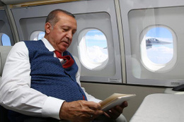 İşte Erdoğan'ın Temmuz sıcağında yün yelek giymesinin nedeni!