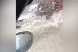 Fatih Altaylı yağmurda mahsur kaldı