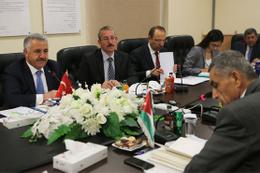 Türkiye ile Ürdün arasında kargo taşımacılığı