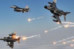 Türk jetleri tepelerine bomba yağdırdı 4 ölü