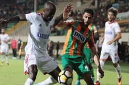 Aytemiz Alanyaspor-Karabükspor maçı sonucu ve özeti
