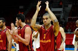 Galatasaray Odeanbank Fransa'da birinci oldu
