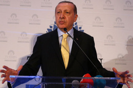 Erdoğan'dan ABD'de pankart açan teröristlere anında cevap