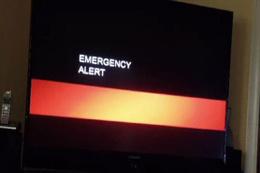 TV yayını bir anda kesildi... Kıyamet alarmı verildi!