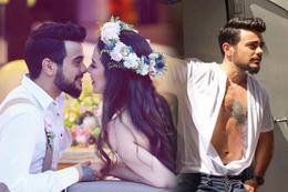 Rüzgar Erkoçlar'ın düğününden ilk fotoğraflar eşinin gelinliği efsane