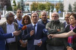 HDP'lilerden tutuklu vekiller için itiraz