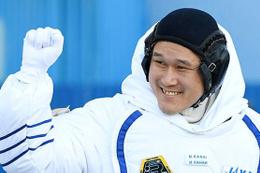 Uzayda 9 cm uzadığını açıklayan Japon astronot sadece 2 cm uzamış
