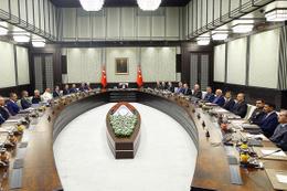 OHAL ve Afrin'in görüşüldüğü kritik MGK sona erdi