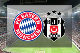 Beşiktaş-Bayern Münih maçı için tarihi hazırlık!