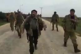 Fatihler Tugayı komutanı Afrin kırsalında PKK'dan alınan köyde