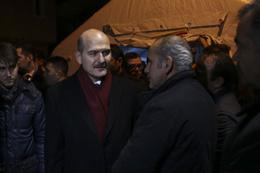 Bakan Soylu'dan şehit ailesine taziye