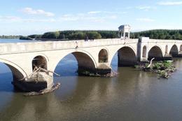 Tarihi Meriç Köprüsü'ne büyük ayıp!