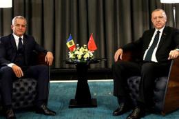 Cumhurbaşkanı Erdoğan Plahotniuk'u kabul etti
