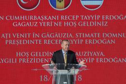 Cumhurbaşkanı Erdoğan'dan Gagavuz Türklerine müjde!