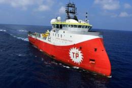 Yunan gemisi Doğu Akdeniz'de Türk araştırma gemisini taciz etti!