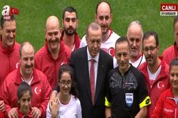 Cumhurbaşkanı Erdoğan'dan başlama vuruşu!
