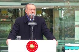 Erdoğan: Yeni bir dönemin arefesindeyiz!