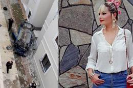Bursa'da feci kaza! Otomobil apartman boşluğuna böyle düştü
