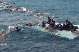 Bodrum'da tekne faciası! Çocukları denizden topladılar